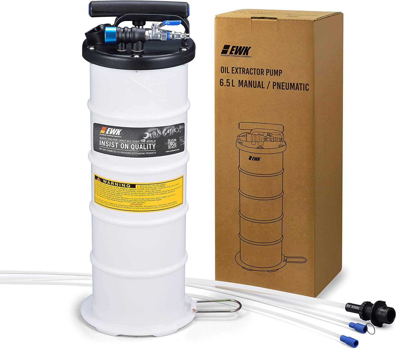 Garage & Shop ATPEAM Oil Changer Vacuum Fluid Extractor 7L Manual ...