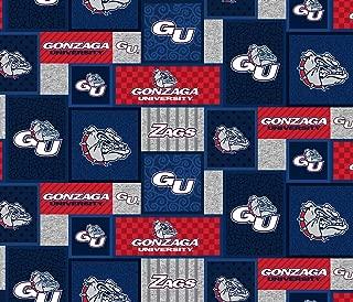 Best gonzaga fleece fabric Reviews