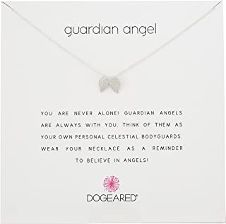 angel wing friendship necklace