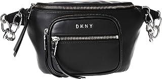 DKNY Womens Fanny pack, Black (Black/Silver) - R94IZF25