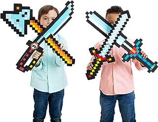 Boley 8-Bit Pixel Diamond Foam Sword Set - 24