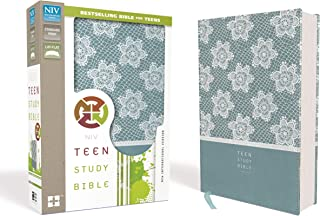 NIV, Teen Study Bible, Imitation Leather, Blue
