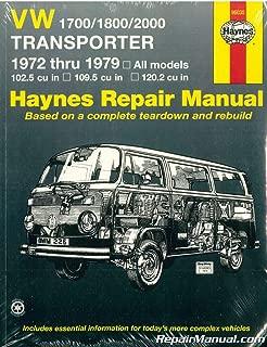 H96035 Haynes VW Transporter 1700 1800 2000 1972-1979 Auto Repair Manual