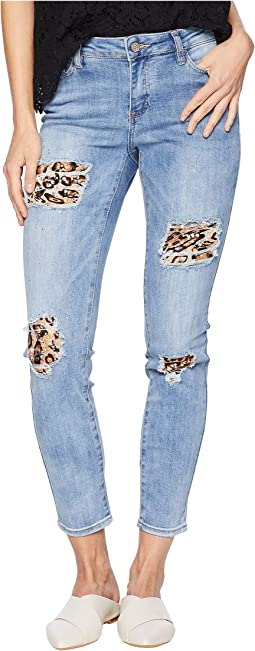 Drama Leopard Pieces Destroy Jeans in City Slicker