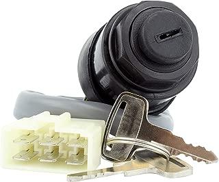 3-Pos. Ignition Key Switch For Kawasaki Mule KAF 300 (500) / 400 (SX) / 540 (2010 2020 2030) / 620 (2500 2510 2520) / 950 (2510) 1990-2019 OEM Repl.# 27005-1146 27005-1191