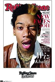 Trends International Rolling Stone Magazine - Wiz Khalifa 11 Wall Poster, 22.375