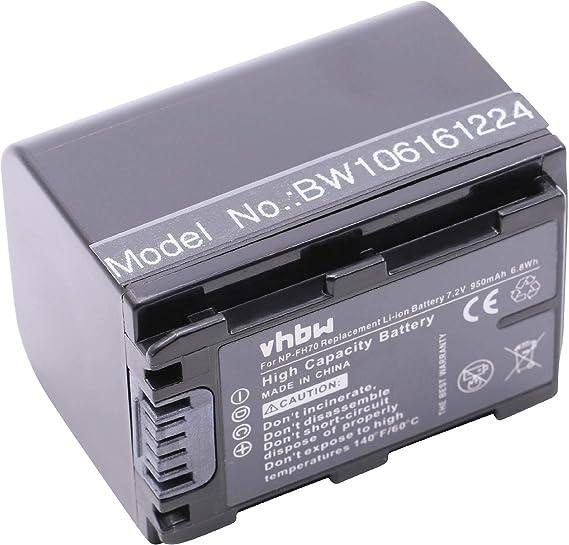 Vhbw Ladegerät Ladekabel Mit Kfz Lader Passend Für Sony Kamera