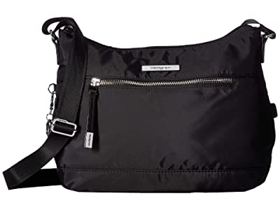Hedgren Gleam RFID Medium Crossbody (Black) Cross Body Handbags