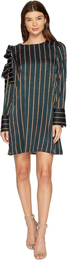 J.O.A. - Stripe Shift Dress