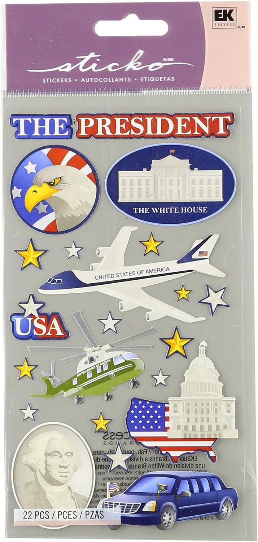 Sticko E5200801 Sticko Classic StickersMr. President