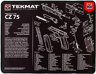 TekMat Handgun Ultra 20 Premium CZ-75 Cleaning Mat, Black