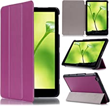 LG G PAD X 10.1 Case - Cellularvilla Ultra Slim Smart shell Pu Leather Flip Folding Stand Case Cover for LG G Pad 2 V940 10.1 Inch / LG G PAD X 10.1 Inch (4G LTE AT&T V930) Android Tablet (Purple)
