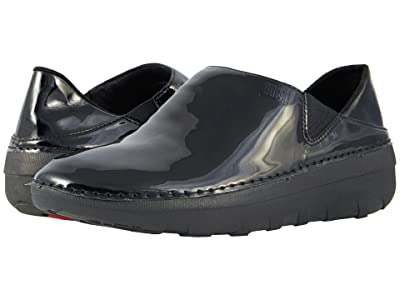FitFlop Superloafer Patent (Black) Women