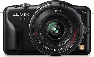 Panasonic DMC-GF3X Fotocamere digitali (modello: DMC-GF3; generale: nero, obiettivo intercambiabile LUMIX G X VARIO PZ 14-42mm)