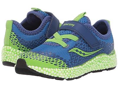 Saucony Kids S-Astrofoam Jr (Toddler) (Blue/Green) Boys Shoes