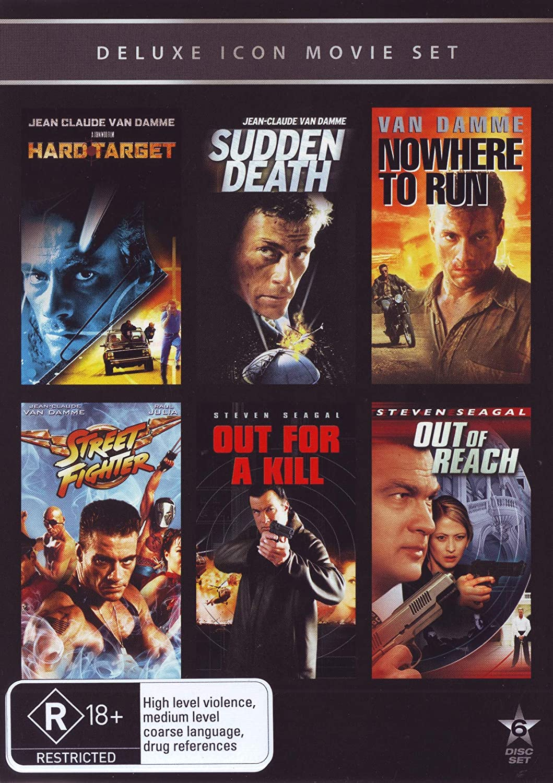 Hard Target Sudden Death Nowhere Street Fighter 55% OFF Run to N Omaha Mall