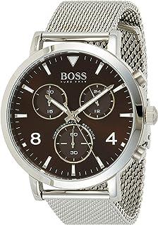 Hugo BOSS Reloj Cronógrafo para Hombre de Cuarzo con Correa en Acero Inoxidable 1513694