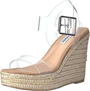 Steve Madden Womens SPLA01S1 Splash Transparent Size: