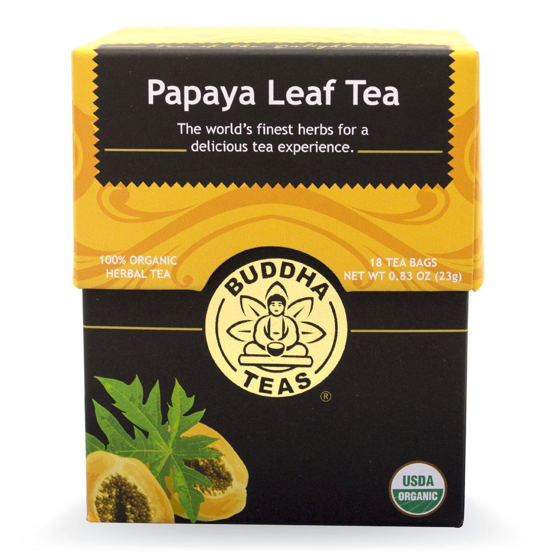 Seasonal Wrap Introduction Buddha Teas Papaya Leaf Tea Pack of 6 18 Count Soldering