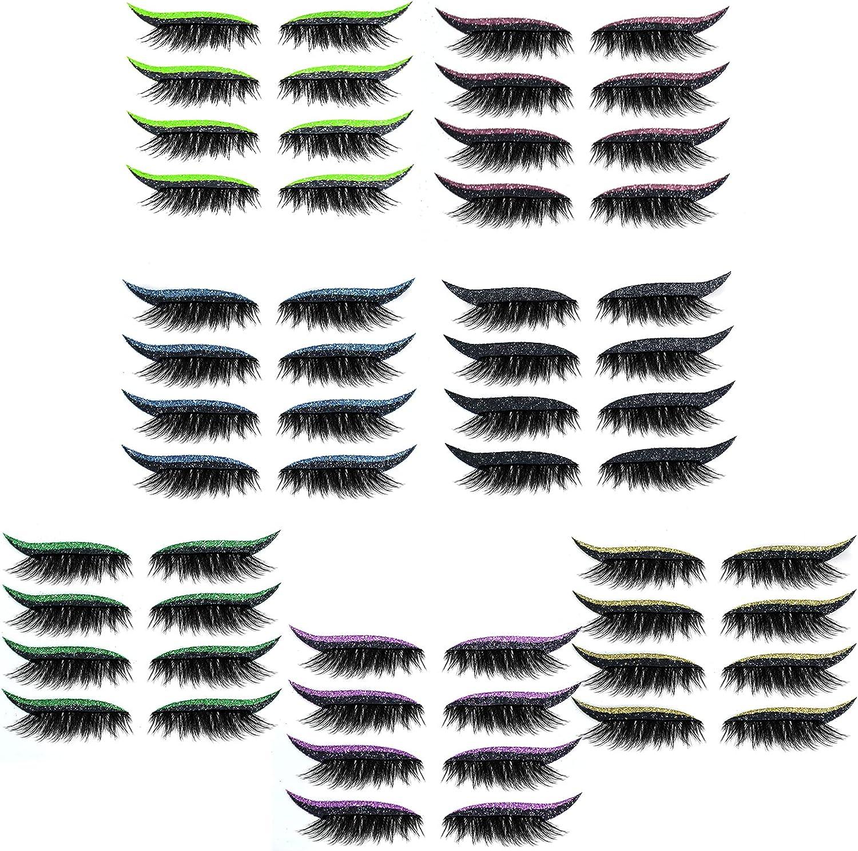 123 Life Eyelash Limited Special Price Stickers Year-end gift TIK Makeup TOK 4 Reus Pairs