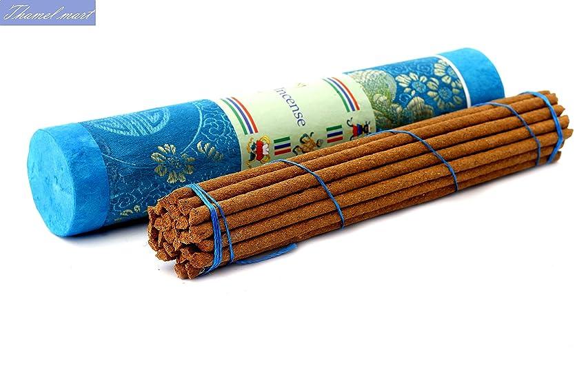 独立含める急降下サンダルウッドチベットIncense Sticks?–?Spiritual & Medicinal Relaxation Potpourrisより?–?効果的& Scented Oils