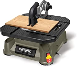 Rockwell BladeRunner X2 Portable Tabletop Saw with Steel Rip Fence, Miter Gauge, and 7..
