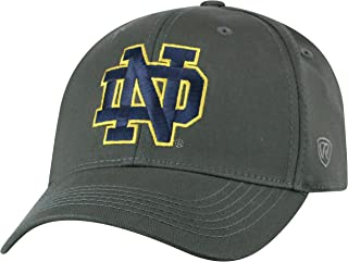 NCAA Men's Hat Fitted Charcoal Icon
