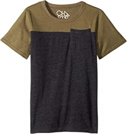 Extra Soft Two-Toned Pocket Tee (Little Kids/Big Kids)