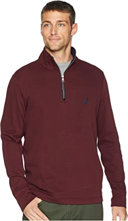 1/2 Zip Mock Neck