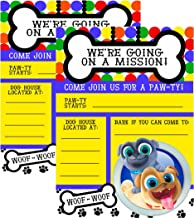 puppy pals invitations