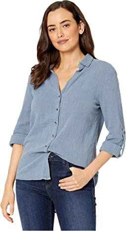 Wearables Porter Blouse in Cotton Gauze
