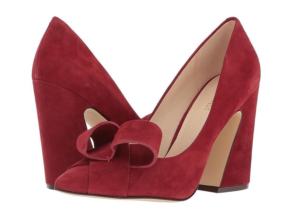 Nine West Haddriana Pump (Red Suede) High Heels