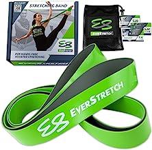 Banda elástica para estiramientos EverStretch, No se conforme con menos: Banda elástica Premium de látex 100% natural para el entrenamiento de la flexibilidad.