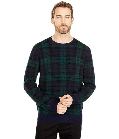 Polo Ralph Lauren Loryelle Wool Sweater (Blackwatch Plaid) Men