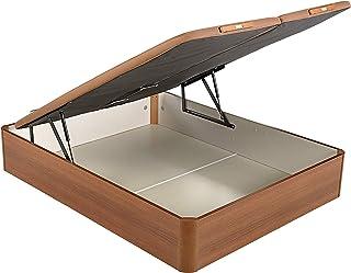 PIKOLIN canapé abatible Gran Capacidad de almacenaje Color Cerezo 150x190 Servicio de Entrega Premium Incluido