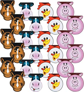 Fun Express Farm Party Paper Notepads | 24 Count | Children's School Activities, Birthday Party Favors & Prizes, Good Bags, Art Activities