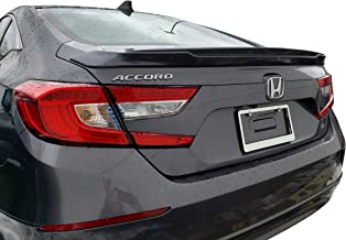 Factory Style Lip Spoiler for the Honda Accord Sedan 2018-2019 Spoiler Painted in the Factory Paint Code of Your Choice 578 R94 with 3M tape included