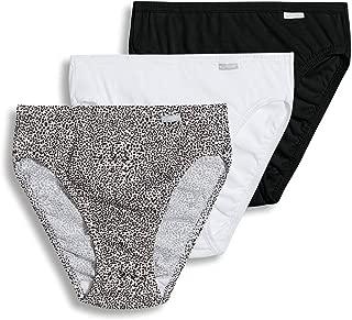 Jockey Women's Underwear Plus Size Elance French Cut- 3 Pack