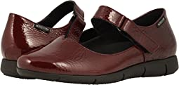 Oxblood Crinkle Patent