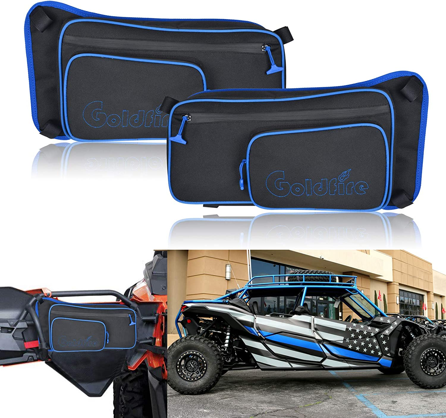 Goldfire 4 years warranty Rear X3 Door Bags for 2017 2018 2021 2019 2020 Can M Am Super sale period limited