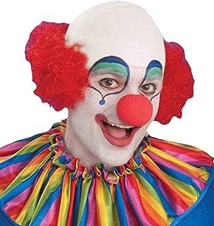 bald curly clown wig