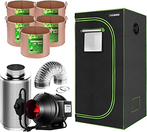 2021 VIVOSUN Grow discount Tent with Air Filtration Kit, Grow high quality Bags online sale