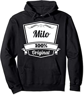 Milo Gift / Milo Personalized Name Birthday Pullover Hoodie