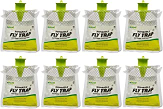 RESCUE! Outdoor Disposable Hanging Fly Trap - 8 Traps