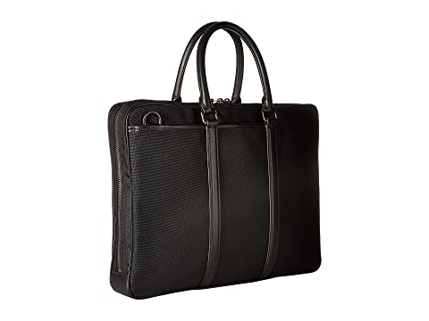 COACH Slim Brief Metropolitan Black QB Black w1ATwz