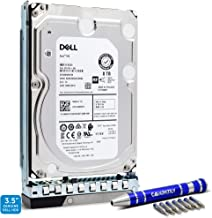 Dell   400-ATKR   8TB 7.2K SAS 12Gb/s 3.5-Inch EMC PowerEdge HDD in G14 Tray   Exos 7E8 ST8000NM0185 Enterprise Hard Drive   Bundle with Compatily Screwdriver Compatible with M40TH C6420 R840 R940