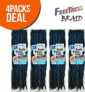 Best crochet soft faux locs Reviews