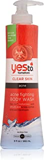 Yes to Tomatoes Acne Fighting Body Wash, 9 Ounce