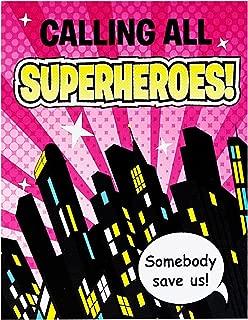 Superhero Girl Invitations