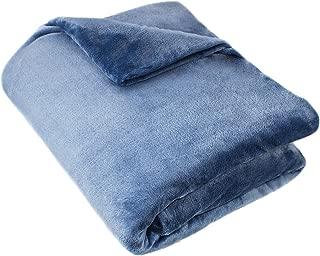 Cozy Fleece Blanket, Full/Queen, Wedgewood